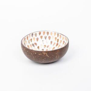 Produktbild 1 Kokosnussschale weiß perlmutt Pfeile