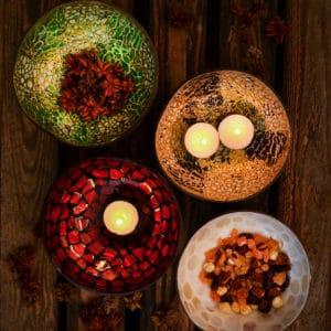 Kokosnussschalen