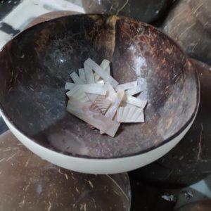 Herstellungsprozess von Kokosnussschalen von Makapli