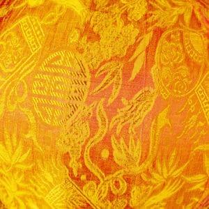 Vietnamesische Lampions Muster Seide 9